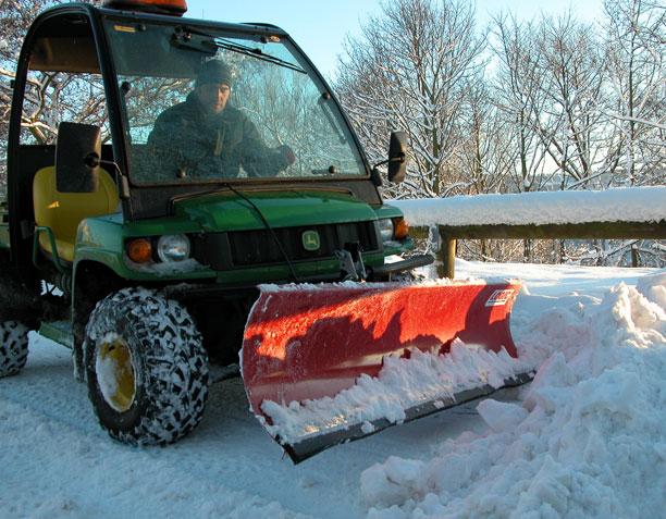 Sneeuwschuif UTV
