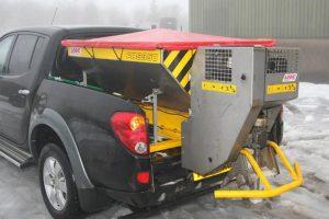 Opzetstrooier laadbak of pick-up