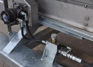 Strooier-hydrauliek