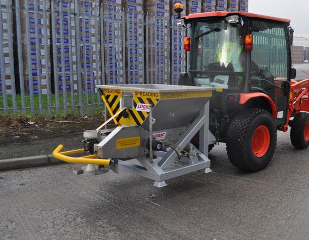 Zoutstrooier voor tractor